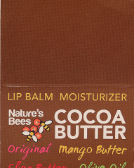 Health & Beauty:Nature Bee Lip Balm - Cocoa Butter