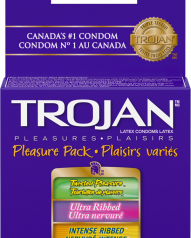 Trojan Condom - Pleasure Pack